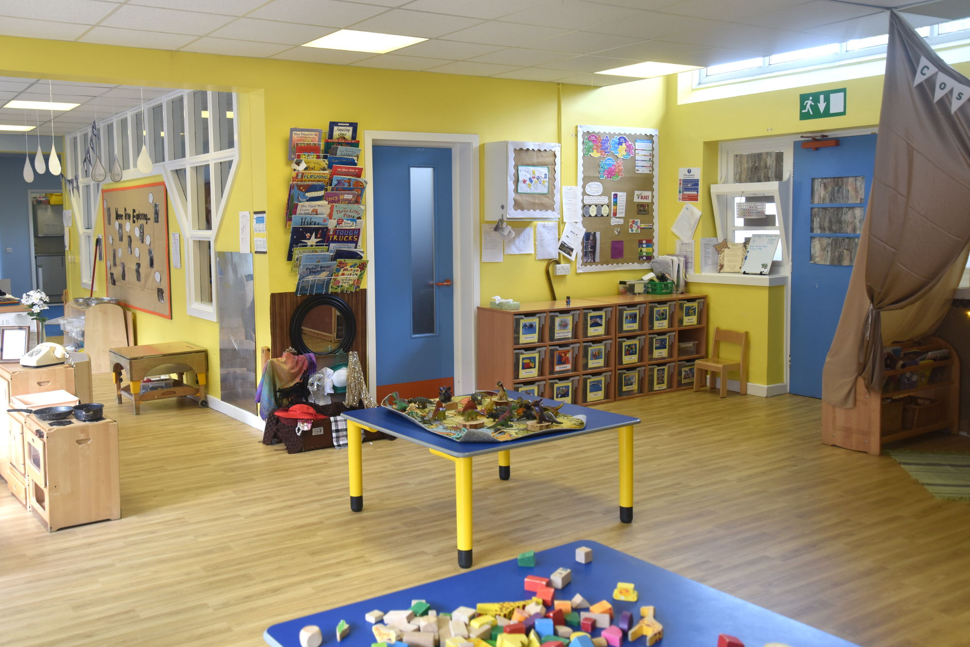 The toddler room at Stainsby